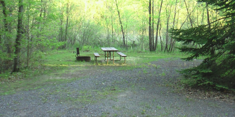East Fork Campground Travel Wisconsin